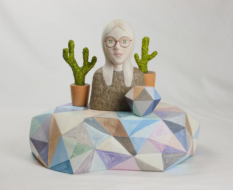 'On the rocks II', 2019, ett konstverk av Sara Nilsson