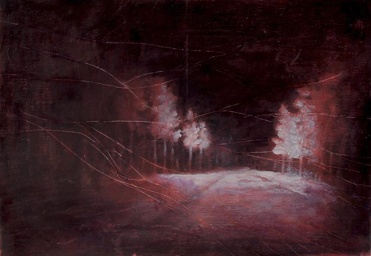 'Ljusbild 1', 2019, ett konstverk av Tomas Gustavsson