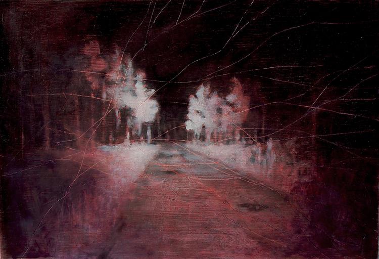 'Ljusbild 2', 2019, ett konstverk av Tomas Gustavsson