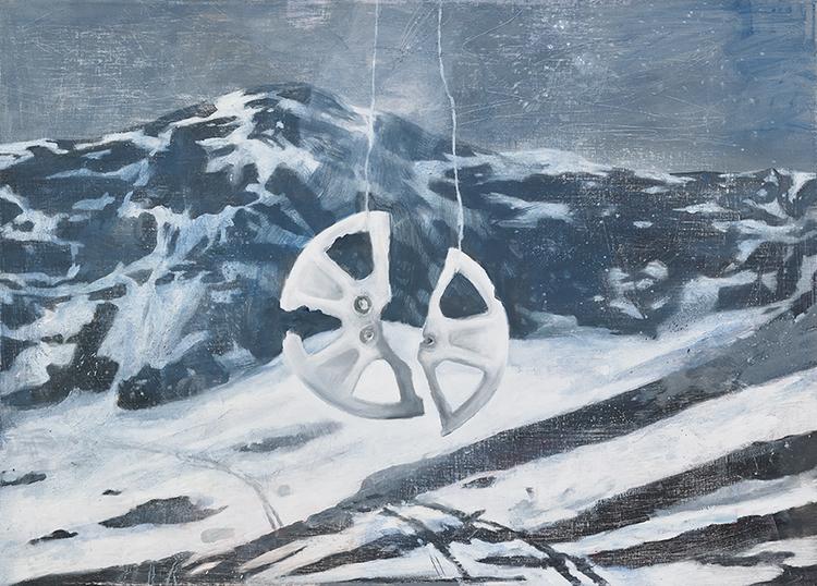 'Vindspel', 2019, ett konstverk av Tomas Gustavsson