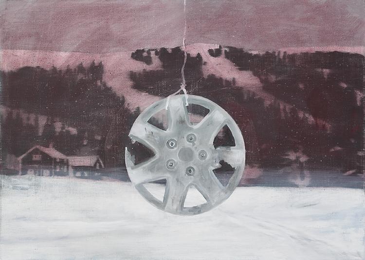 'Nav', 2019, ett konstverk av Tomas Gustavsson