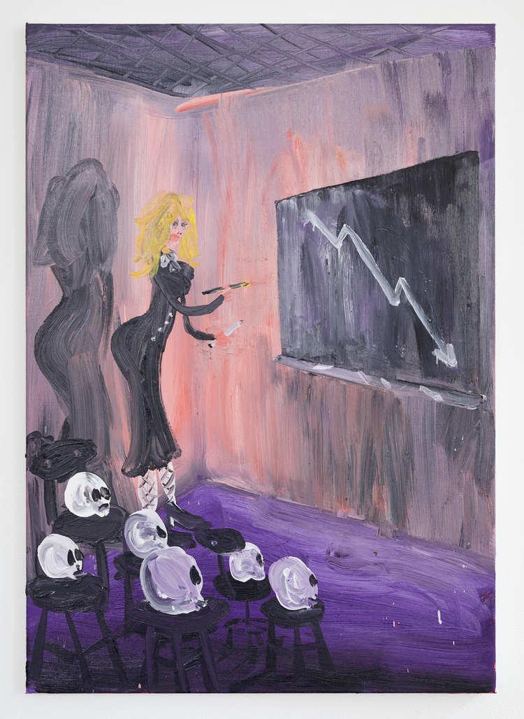 'Negative lesson', 2017, ett konstverk av Oskar Nilsson