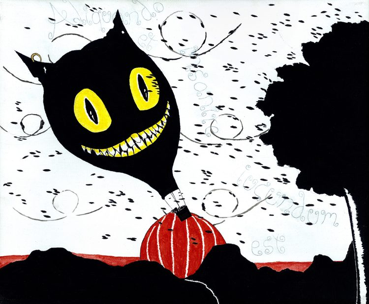 'A little madness is enjoyable', 2014, ett konstverk av Just an Eric