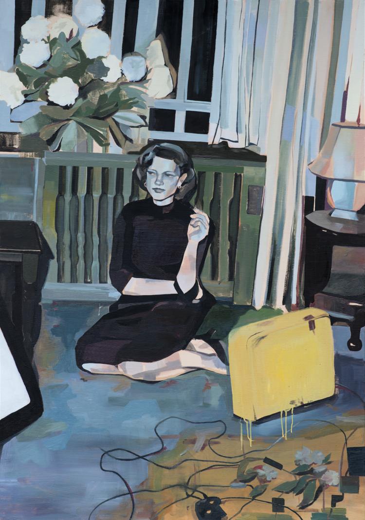 'Baggage', 2017, ett konstverk av Alice Herbst