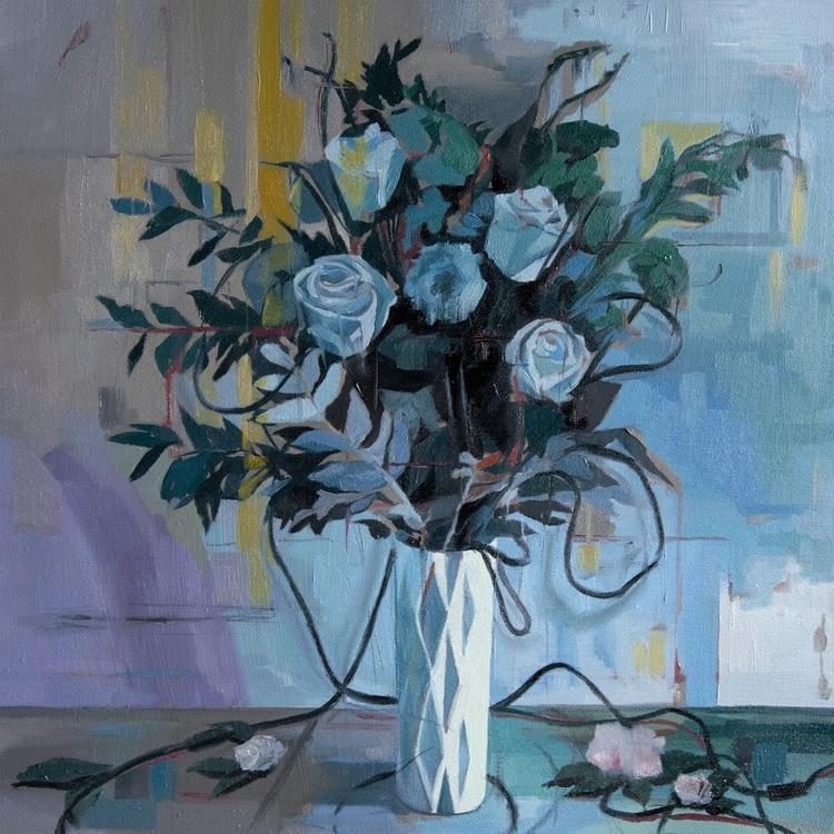 'Cable Flowers 1', 2017, ett konstverk av Alice Herbst