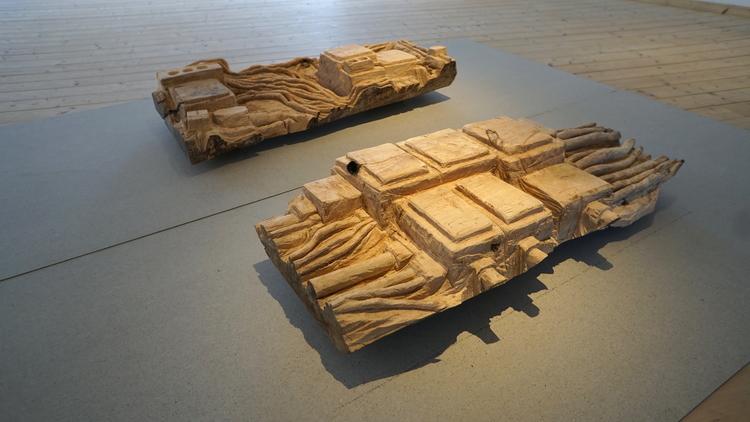'Gasverkets elavdelning (fragment)', 2019, ett konstverk av Mattias Bäcklin