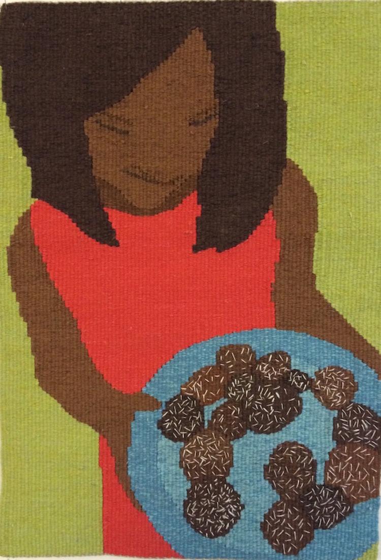 'Innan katastrofen: Chokladbollar', 2015, ett konstverk av Anna Olsson
