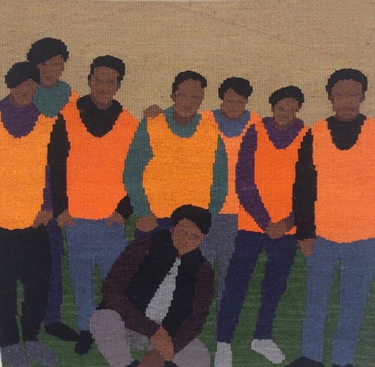 'Demonstrationsvakter', 2020, ett konstverk av Anna Olsson