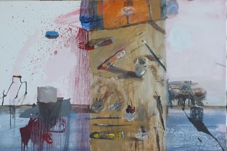'Stilleben', 2018, ett konstverk av Märta König