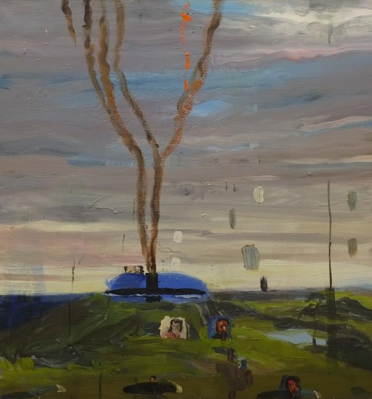 'Efteråt med Herb Alpert', 2018, ett konstverk av Märta König