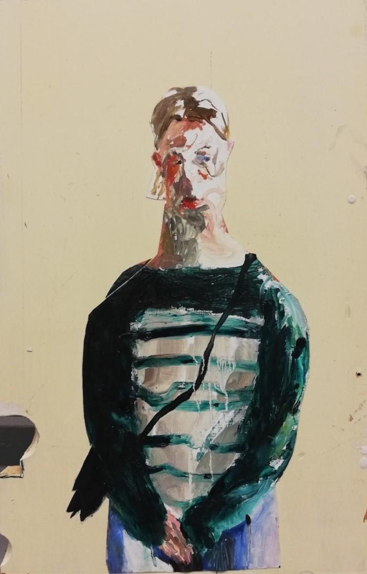 'Agnes', 2018, ett konstverk av Märta König