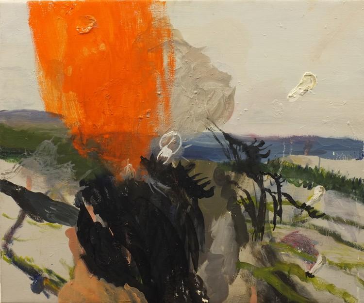 'En form av explosion', 2018, ett konstverk av Märta König