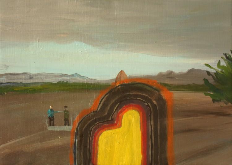 'Uppdrag', 2016, ett konstverk av Märta König