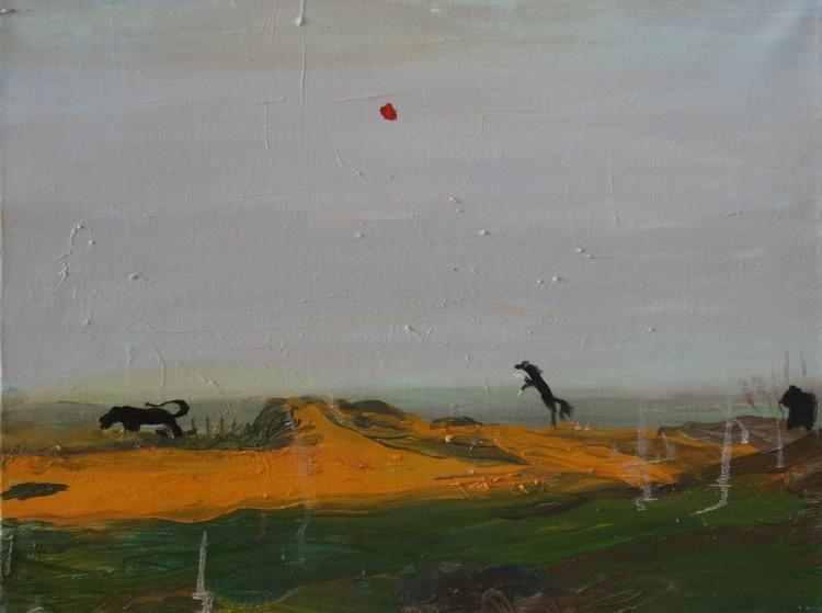 'Oråd', 2016, ett konstverk av Märta König