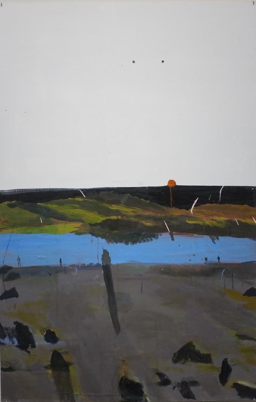 'Utåt sidan 2', 2017, ett konstverk av Märta König