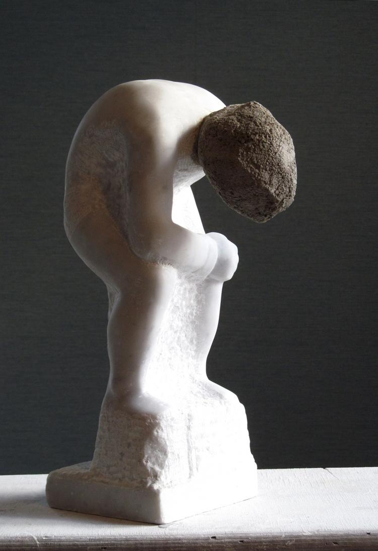 'Stress Position', 2016, ett konstverk av Nicolai Alfvén Nickson