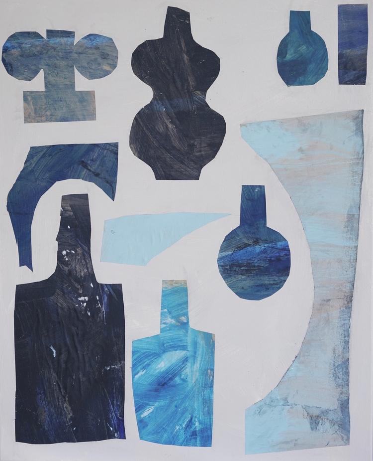 'Blue', 2018, ett konstverk av Emilia Ilke