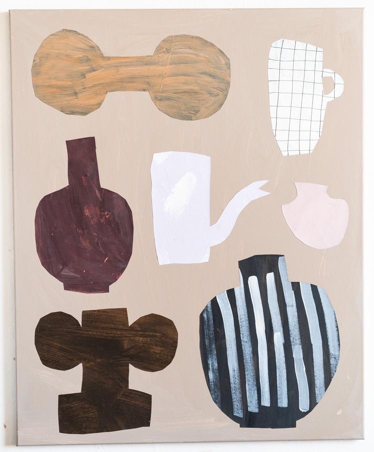 'Family affair I', 2019, ett konstverk av Emilia Ilke