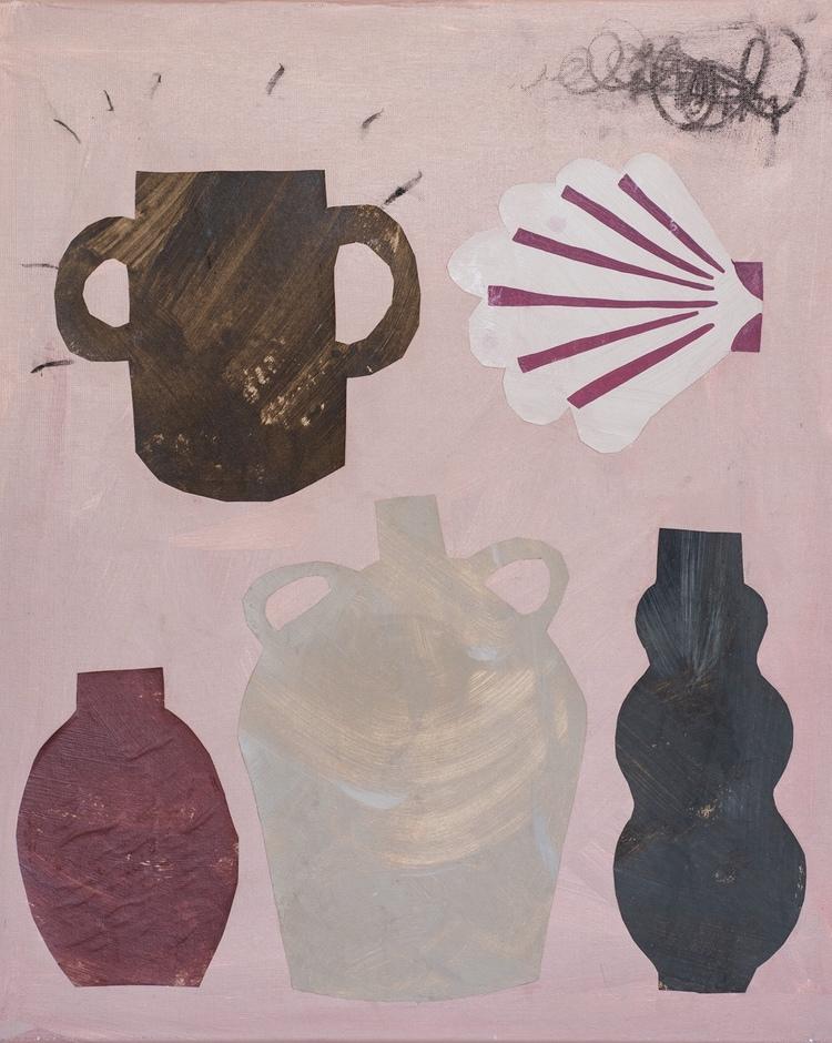 'Arranging things', 2019, ett konstverk av Emilia Ilke