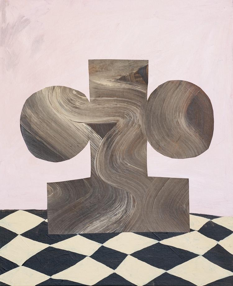 'First shape', 2019, ett konstverk av Emilia Ilke