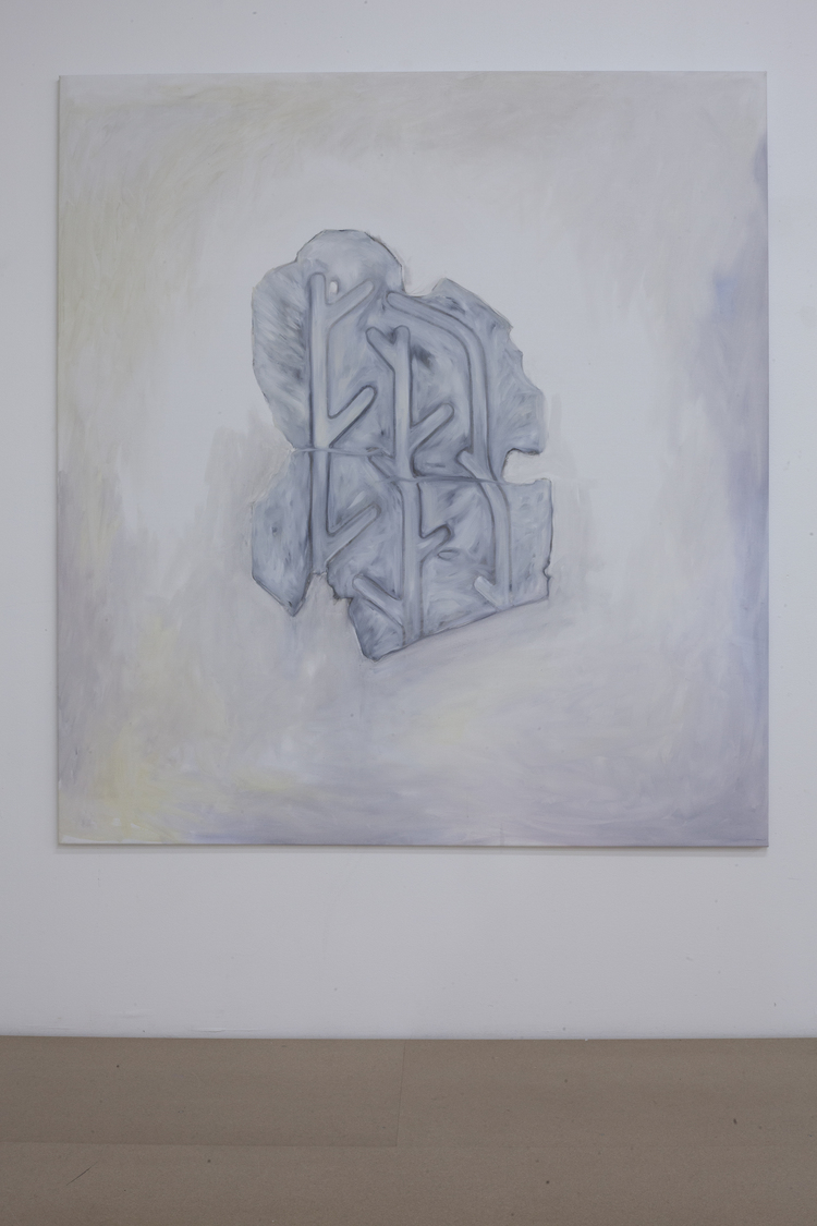 'Found fragment', 2017, ett konstverk av Marika Markström