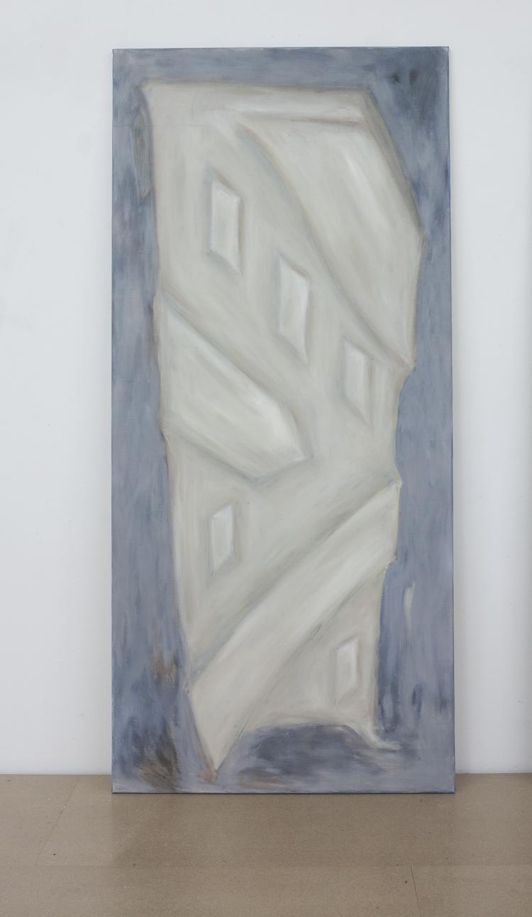 'Becoming bone, chalk', 2018, ett konstverk av Marika Markström