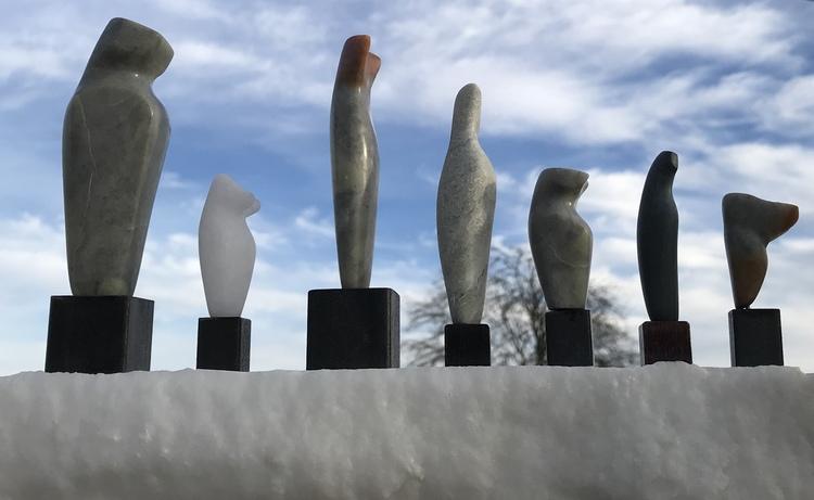 'Figurines', 2017, ett konstverk av Anna Löwdin