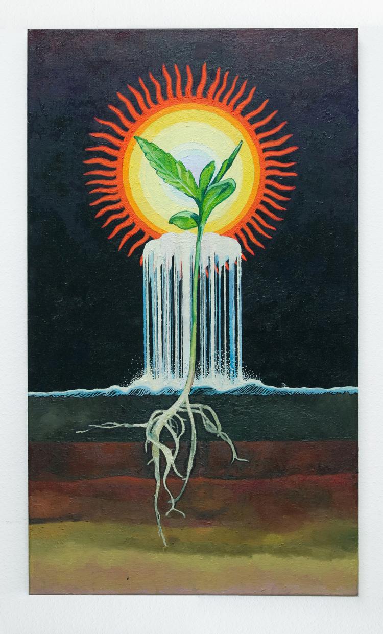 'The Roots', 2014, ett konstverk av Erla S. Haraldsdóttir