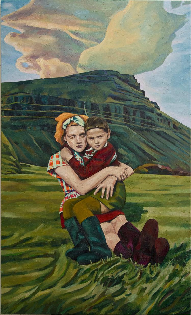 'Haraldur og Ásta', 2015, ett konstverk av Erla S. Haraldsdóttir