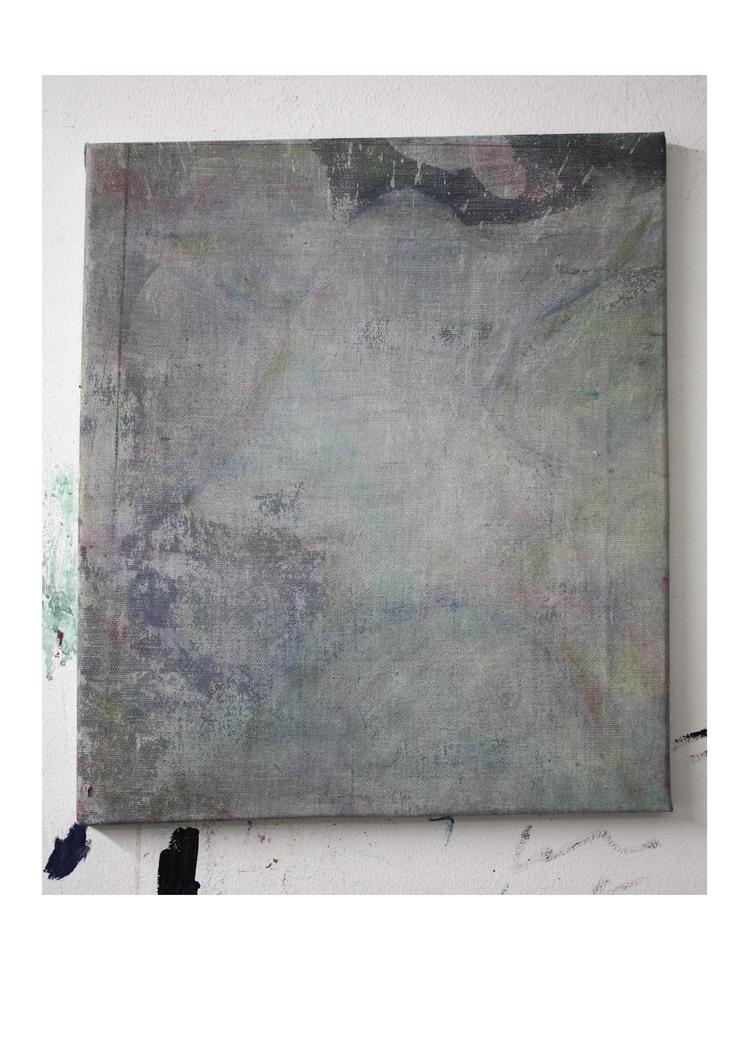 'Profil 2', 2018, ett konstverk av Gustav Samrelius