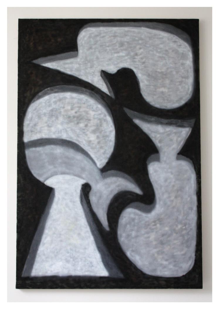 'Lösning  ', 2018, ett konstverk av Gustav Samrelius