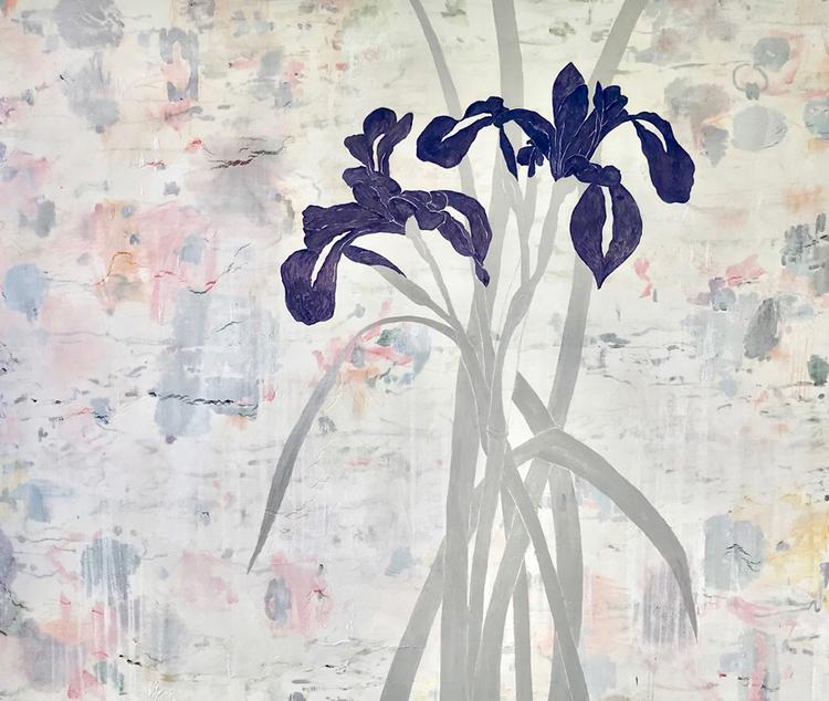 'I See Iris', 2018, ett konstverk av Jet-te L Ranning