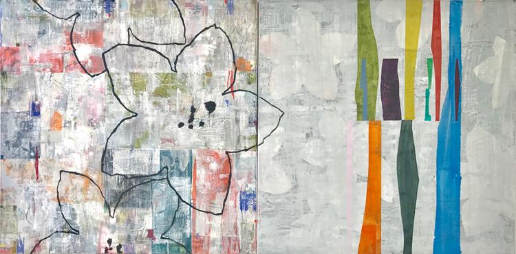 'Loose Ends ', 2018, ett konstverk av Jet-te L Ranning