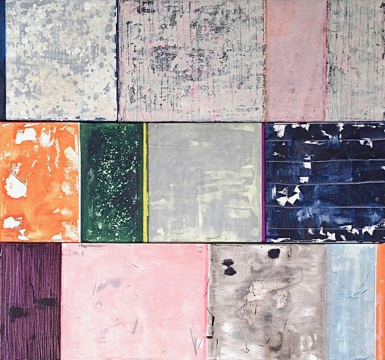 'Recaling the Colours Of Juna Mahal', 2018, ett konstverk av Jet-te L Ranning