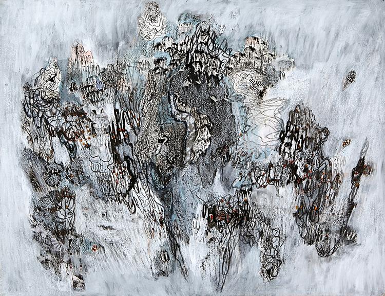 'Karta II', 2018, ett konstverk av Marianne Tan