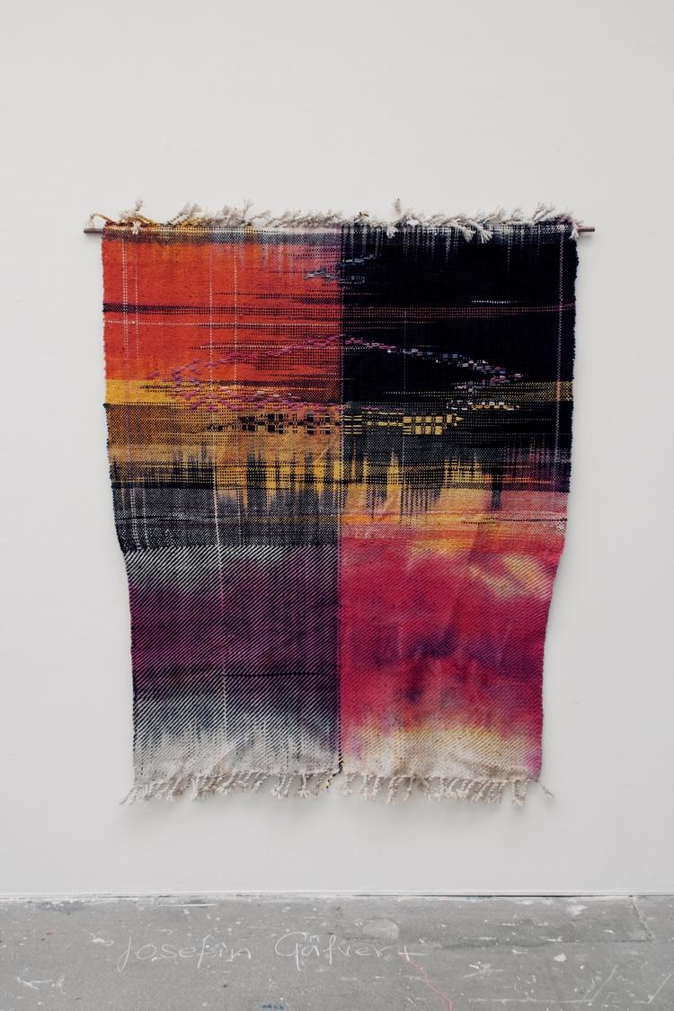 'Skadade av rörelse', 2019, ett konstverk av Josefin Gäfvert