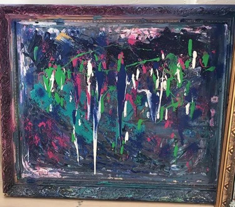 'Rainy day', 2017, ett konstverk av Josefine Sara Andersson
