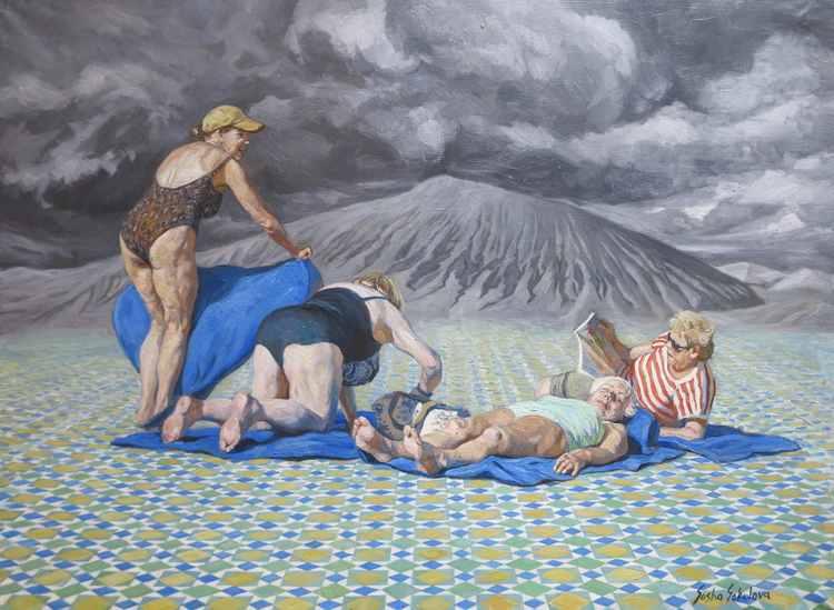 'Egoism 2', 2016, ett konstverk av Sasha Sokolova