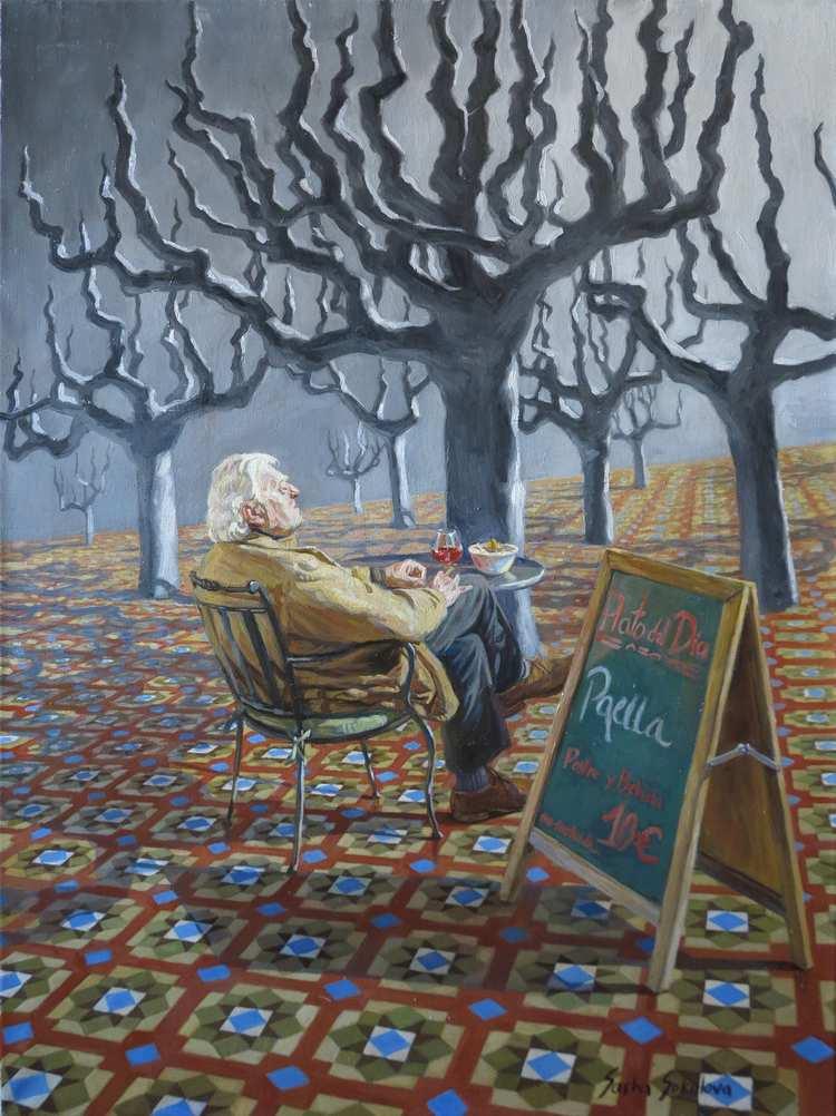 'Egoism 5', 2017, ett konstverk av Sasha Sokolova