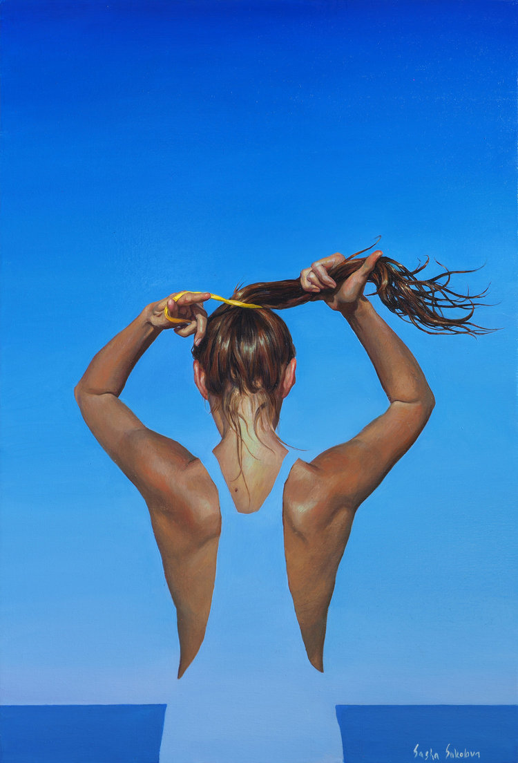 'Splash 9', 2019, ett konstverk av Sasha Sokolova