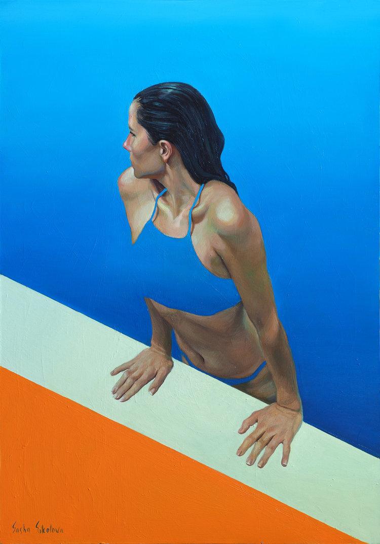 'Splash 12', 2019, ett konstverk av Sasha Sokolova