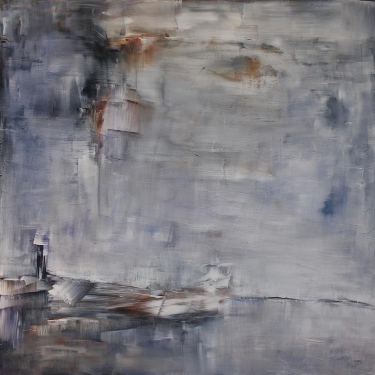 'Utpost', 2019, ett konstverk av Ulla Maria Johanson