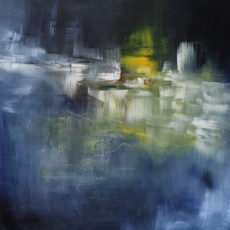 'Vintergata', 2019, ett konstverk av Ulla Maria Johanson