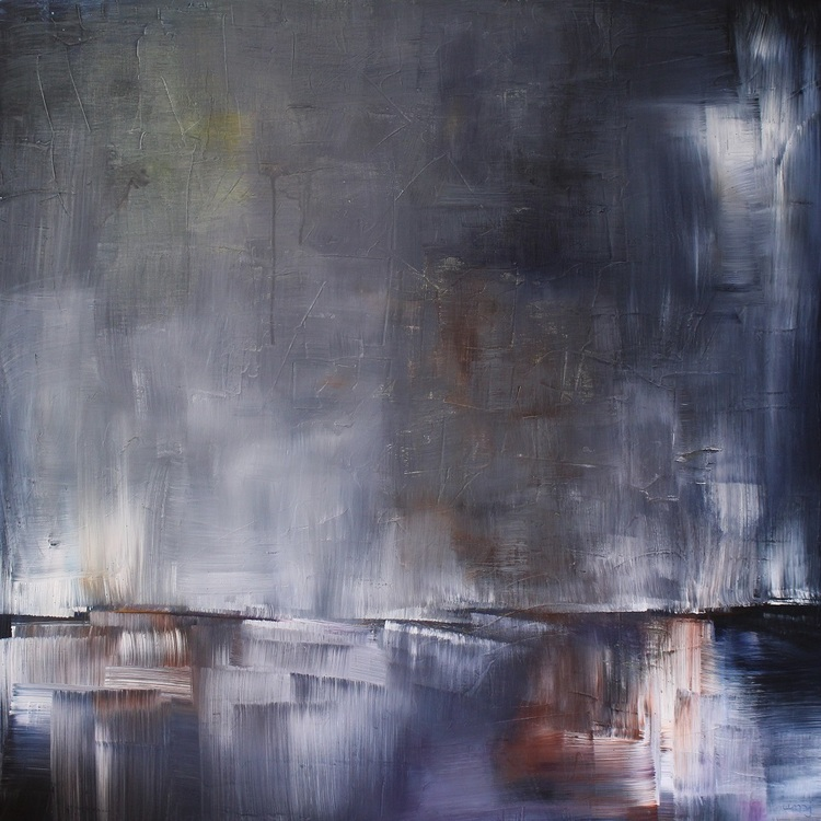 'Utskeppning', 2019, ett konstverk av Ulla Maria Johanson