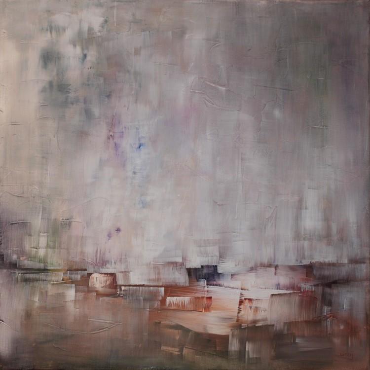 'Sandblästrat', 2019, ett konstverk av Ulla Maria Johanson