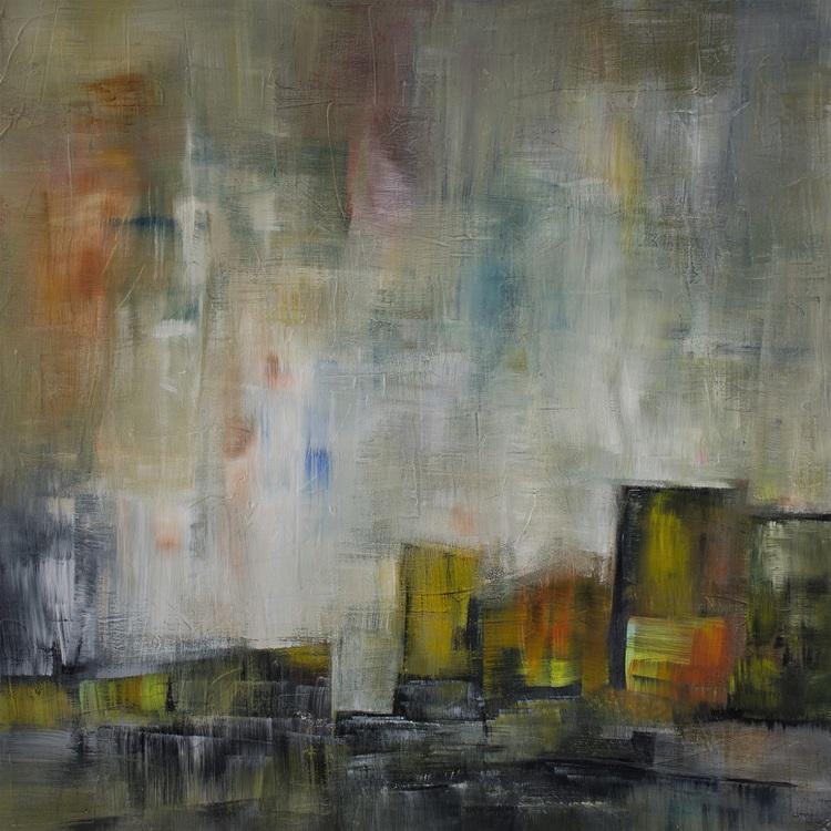 'Hemmaplan', 2018, ett konstverk av Ulla Maria Johanson