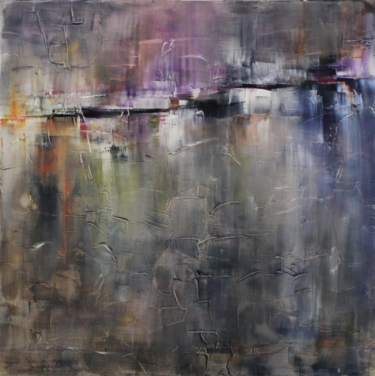 'Husrum', 2019, ett konstverk av Ulla Maria Johanson