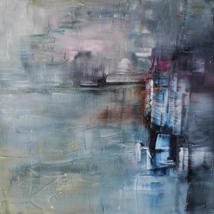 'Angöring', 2018, ett konstverk av Ulla Maria Johanson
