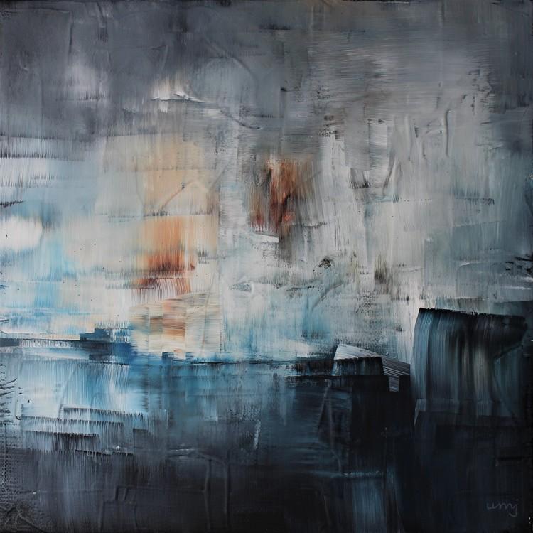 'Avlägset', 2018, ett konstverk av Ulla Maria Johanson
