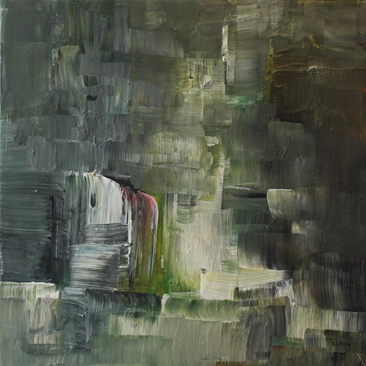 'Gömställe', 2018, ett konstverk av Ulla Maria Johanson